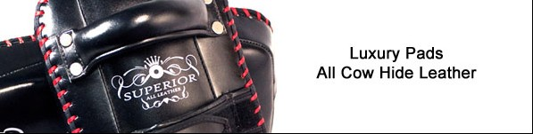 "#KPLS2 ""Superior"" Curved Kick Pads"